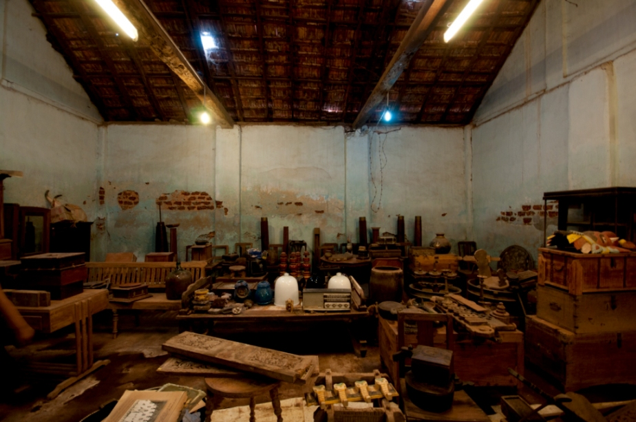 A view of the warehouse interior