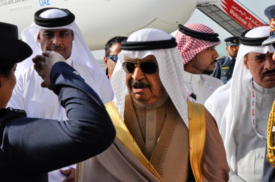 HH Prince Khalifa bin Salman Al Khalifa, the Prime Minister of Bahrain