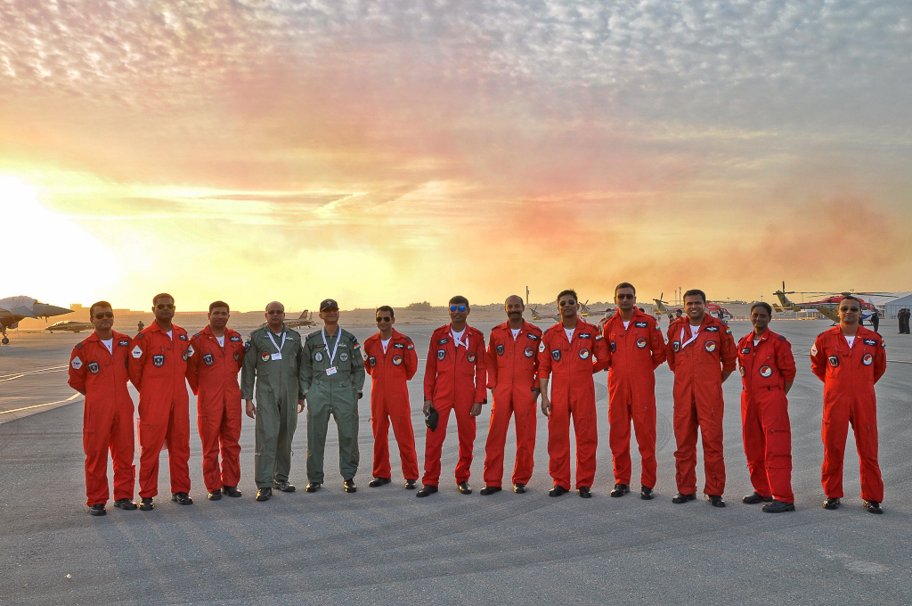 Team Sarang, Indian Air Force