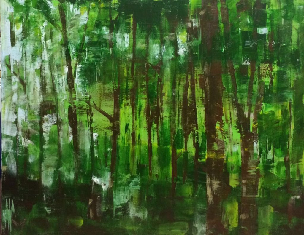 Wooded forests - Acrylic