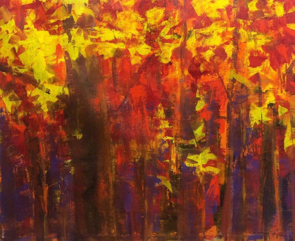 Autumn Landscape - Acrylic